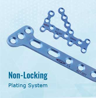 Non-Locking Plating System