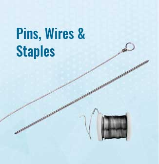Pins, Wires & Staples