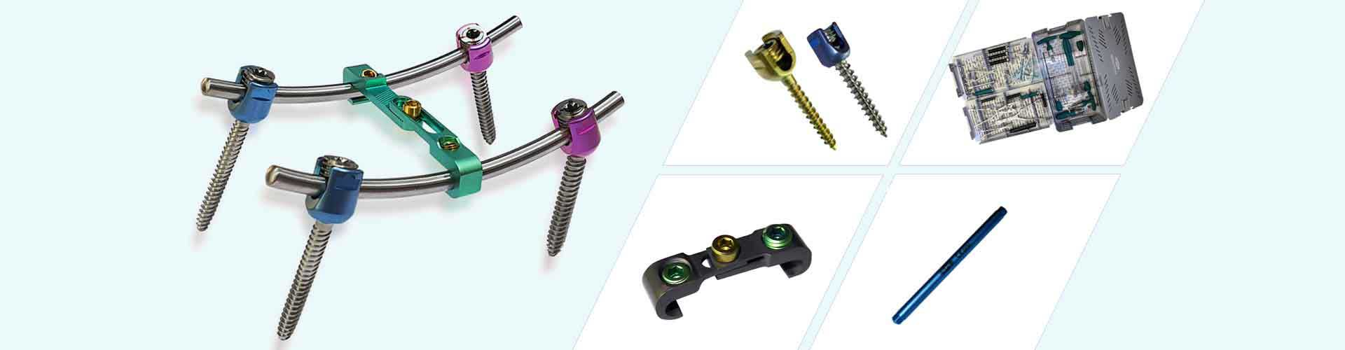 spineHEAL - The Pedicle Screw System